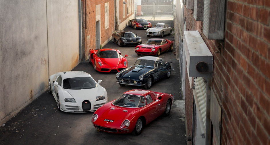 Ferrari Enzo drazba papez