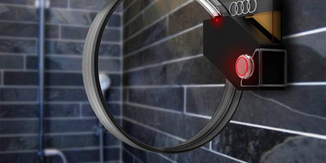 Luxusní umyvadlová baterie od Audi