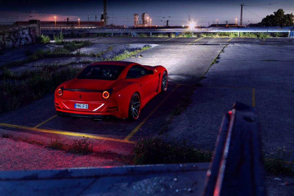 Luxusní Ferrari California T N-Largo Novitec Rosso