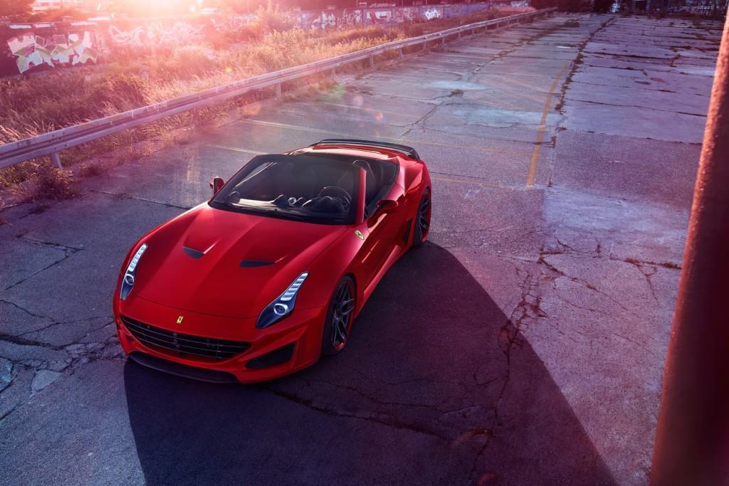 Luxusni Ferrari California T N-Largo Novitec Rosso
