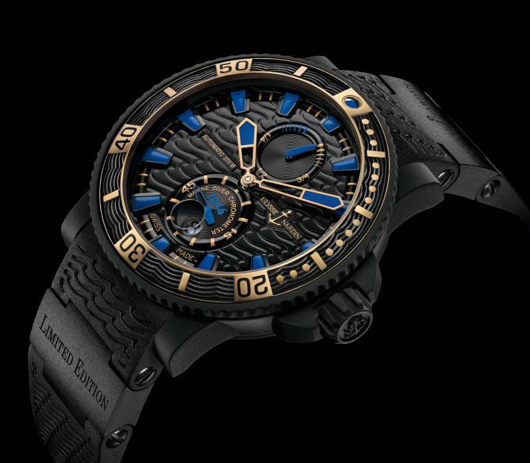 Luxusni hodinky Ulysse Nardin Black Sea
