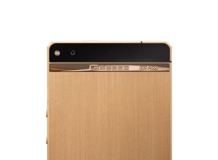 Luxusni telefon Gresso Regal Gold