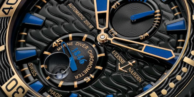 hodinky Ulysse Nardin Black Sea