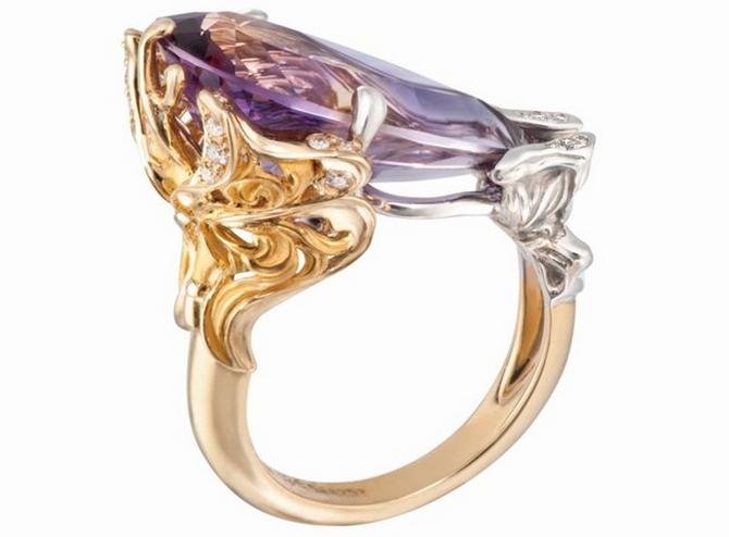 luxusní prsten - Carrera y Carrera Alegoría