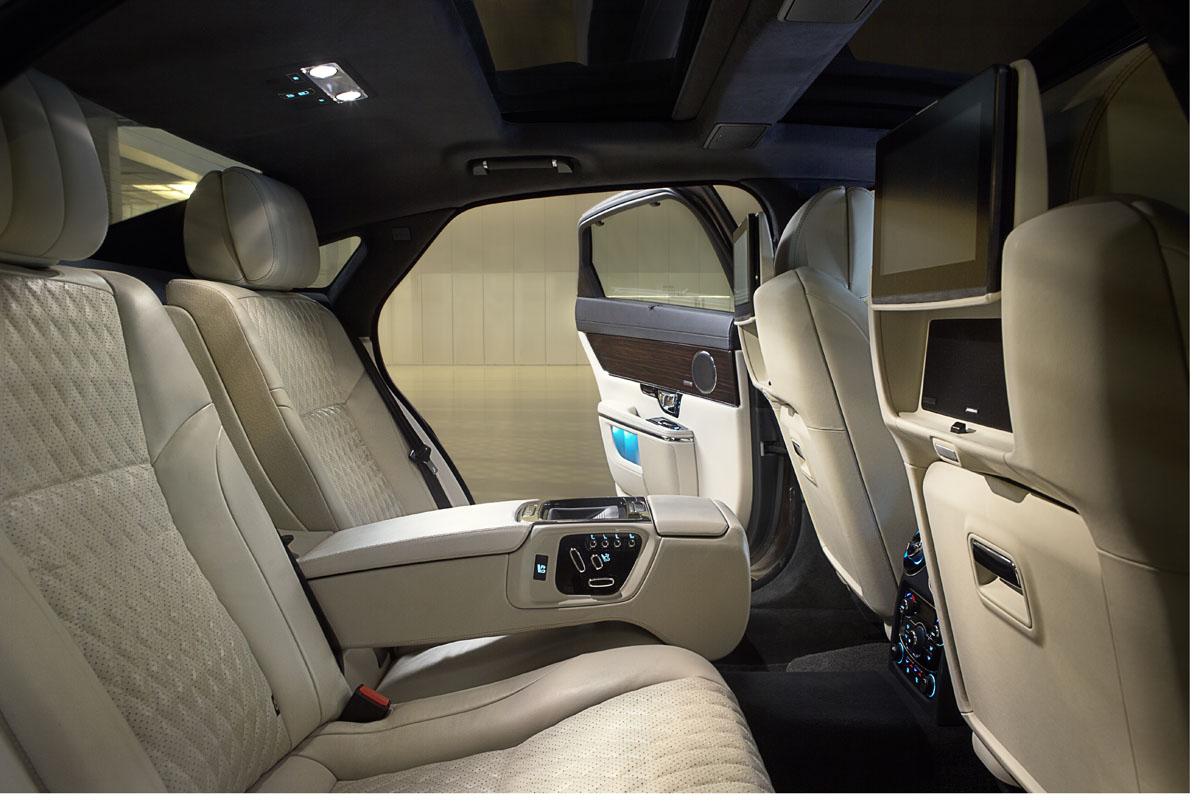 luxusni jaguar xj 2016