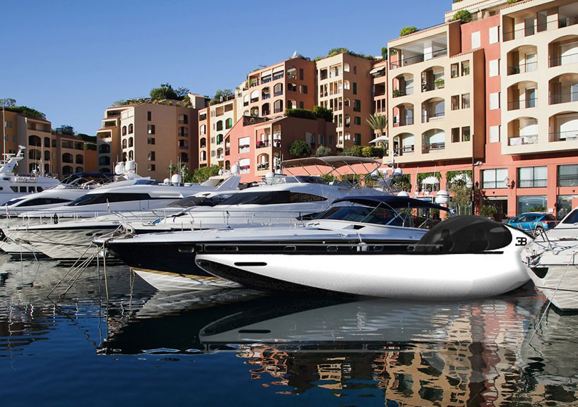 luxusni sportovni clun Bugatti Atlantean Racing Yacht