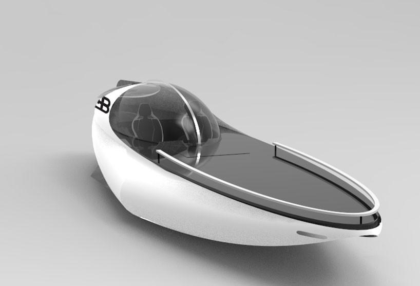 luxusni sportovni jachta - Bugatti Atlantean Racing Yacht