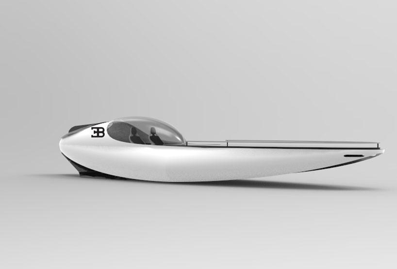 luxusni sportovni jachta Bugatti Atlantean Racing Yacht