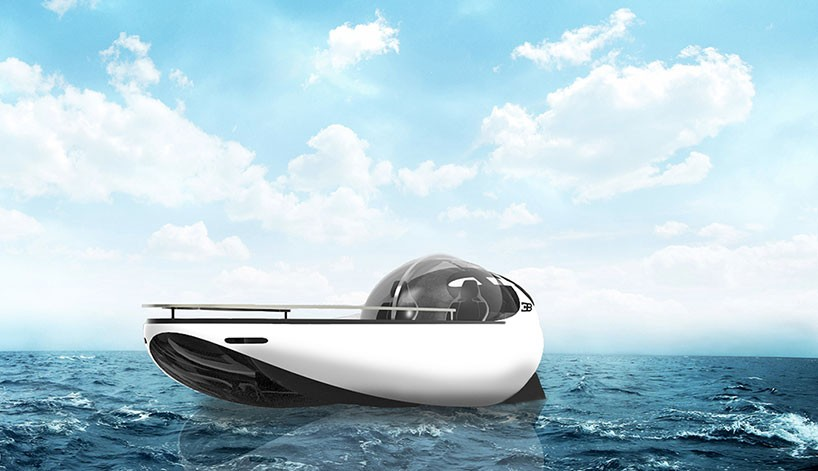 sportovni clun Bugatti Atlantean Racing Yacht