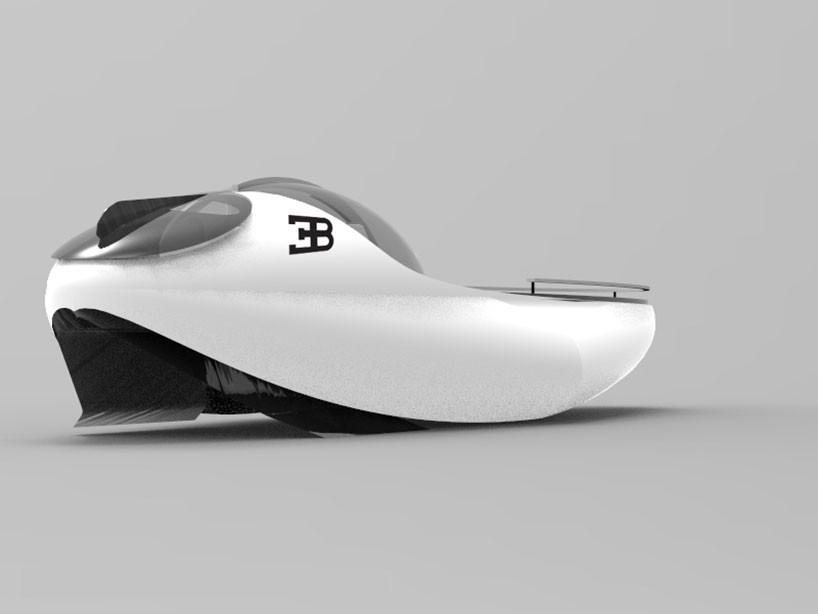 sportovni jachta Bugatti Atlantean Racing Yacht