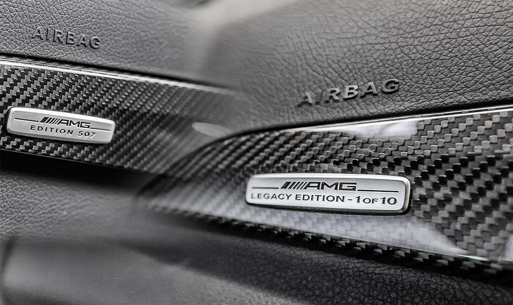 Limitovana edice Mercedes-Benz C 63 AMG Coupe Legacy Edition