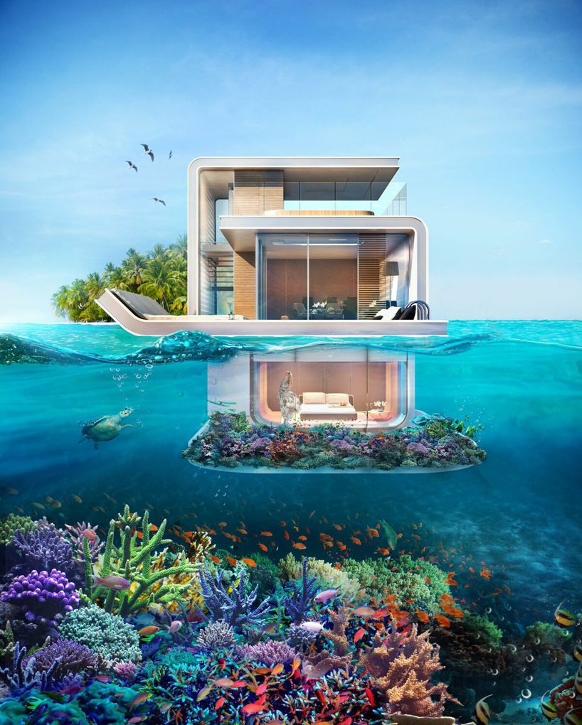 Luxusní residence – Floating Seahorse