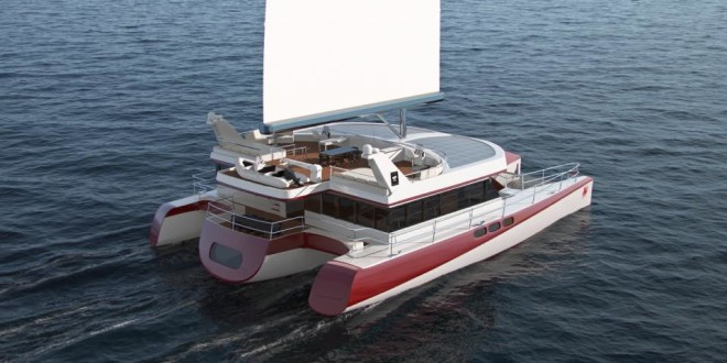 Luxusní trimaran - Dragonship 25