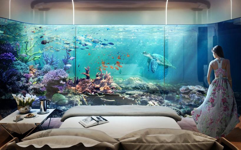 Luxusní dům – Floating Seahorse
