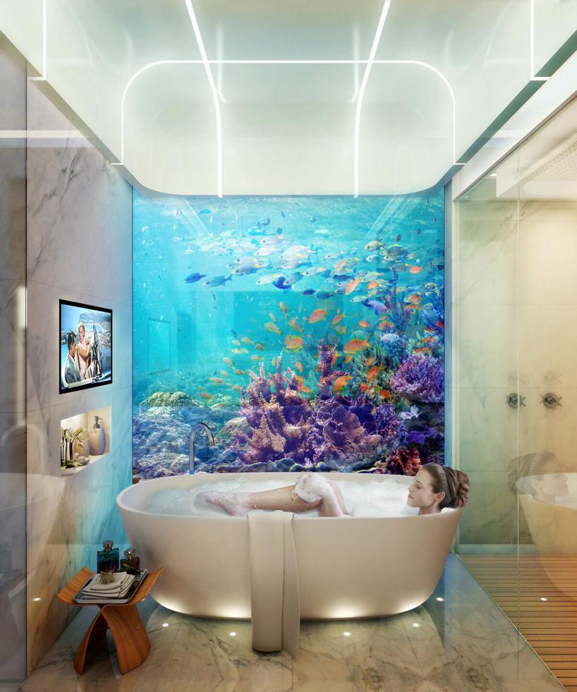 Luxusní plovoucí dům – Floating Seahorse