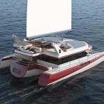 Luxusní trimaran Dragonship 25