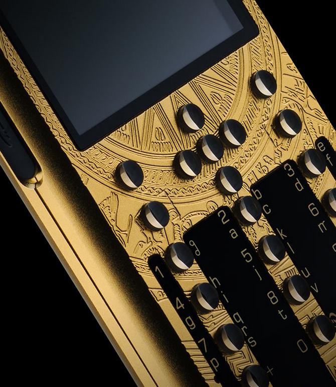 Luxusni telefon Mobiado tlacitkovy