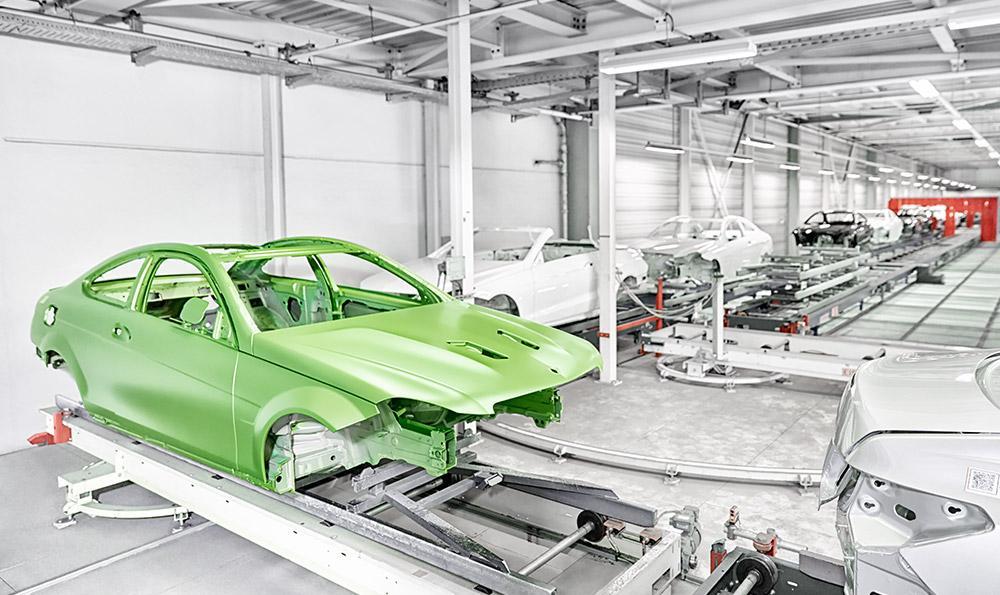 Viper Green Mercedes Benz C 63