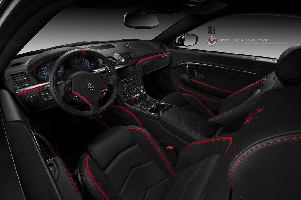 Interiér Maserati GranTurismo