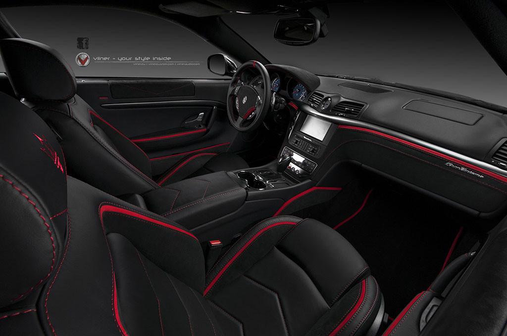 Luxusní Maserati GranTurismo