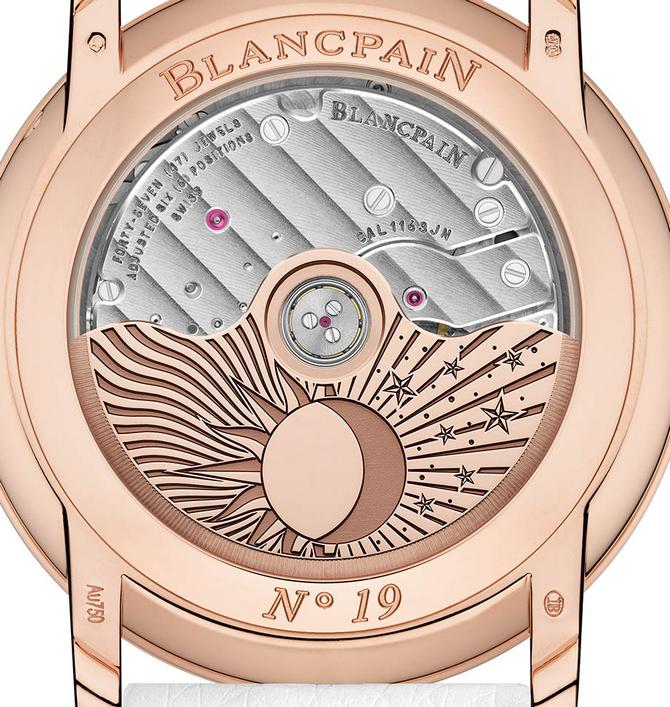 Luxusní dámské hodinky Blancpain Jour Nuit