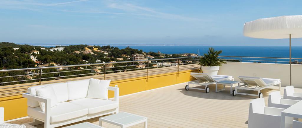 Luxusní penthouse - Portals Hills Boutique Hotel