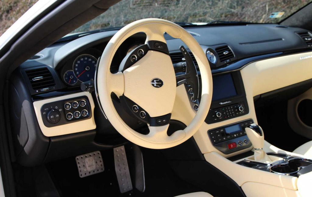 Luxusni Maserati GranTurismo S na prodej