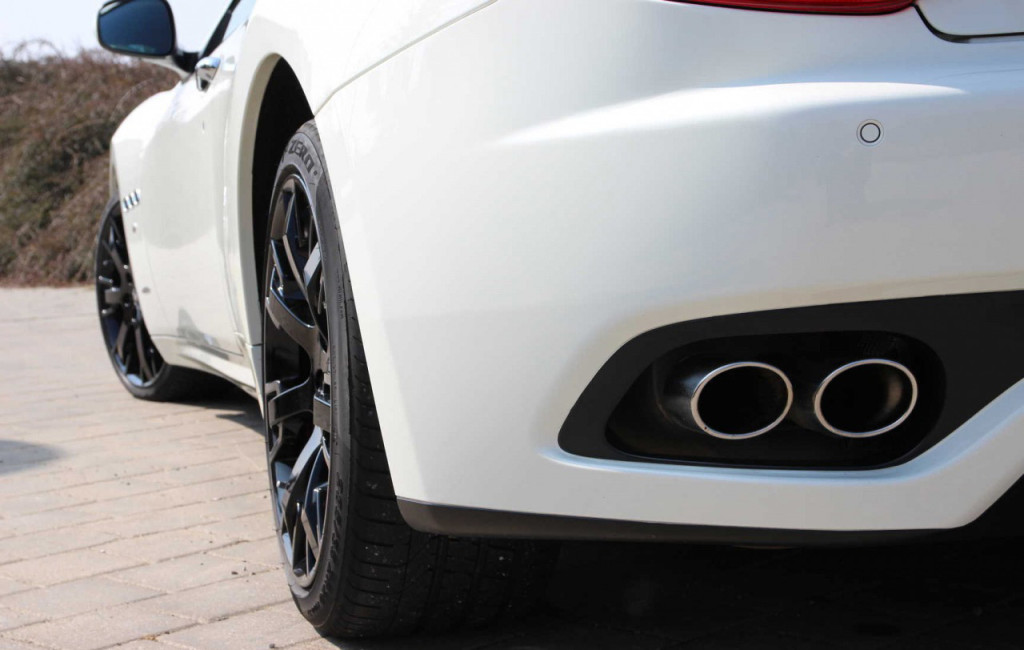 Maserati GranTurismo S vyfuk