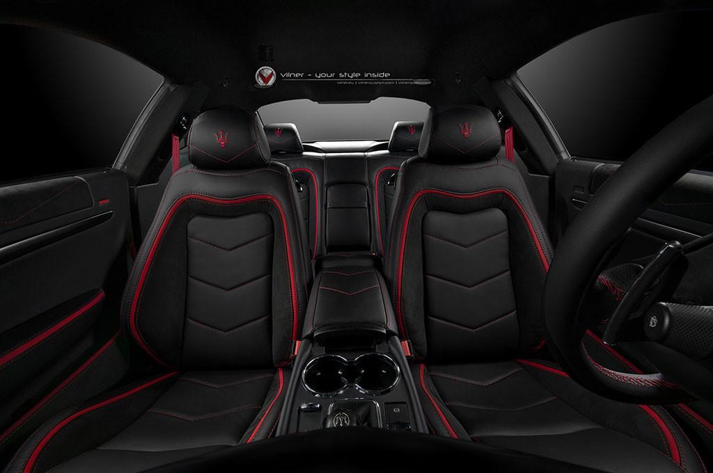 Maserati GranTurismo interiér