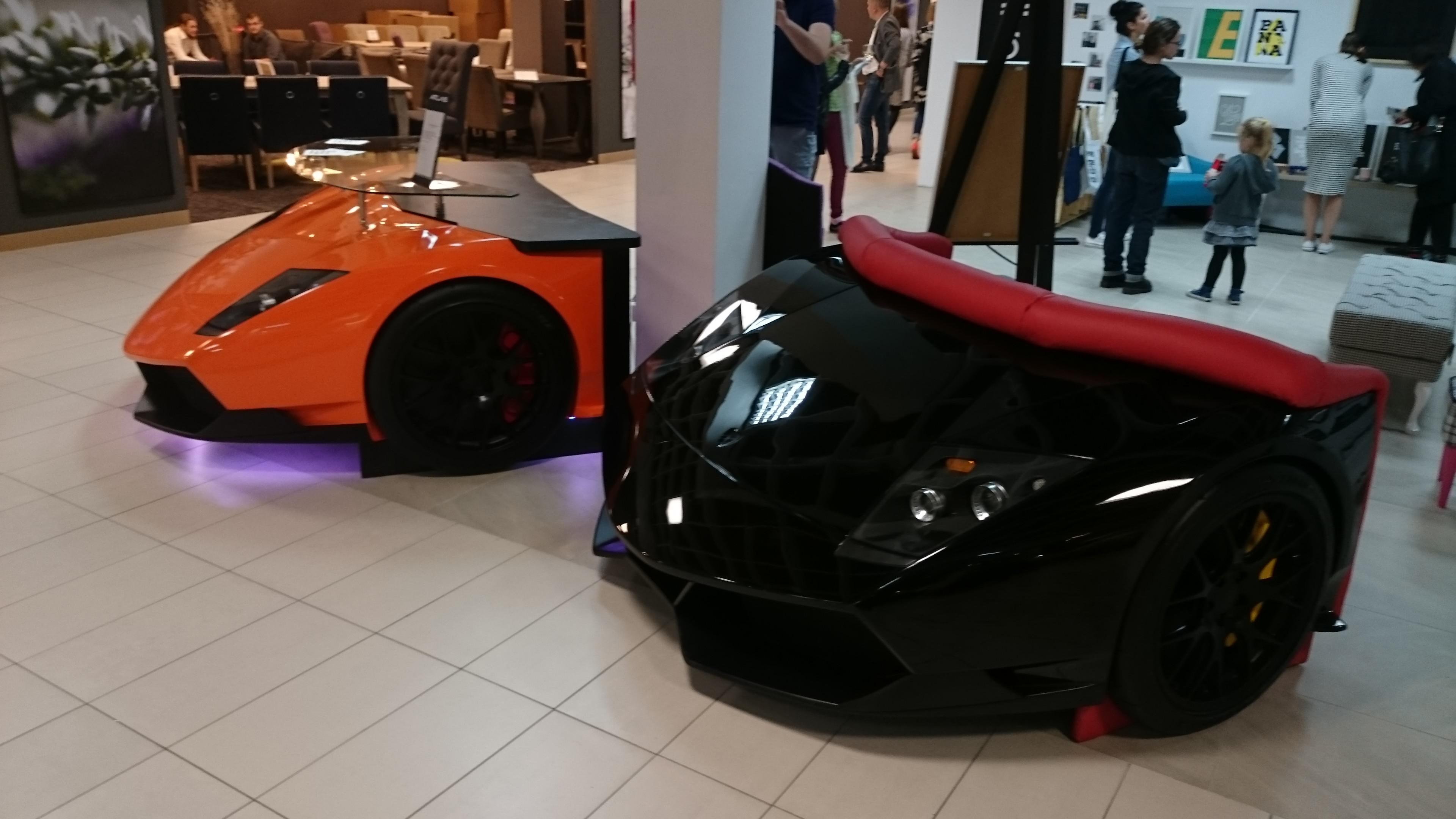 Nabytek Lamborghini