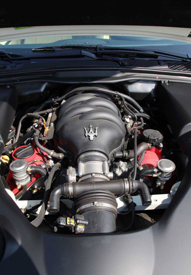 motor Maserati GranTurismo