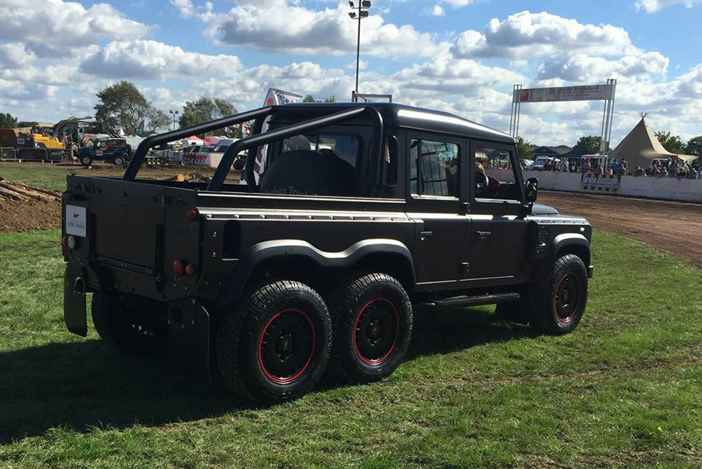 Flying Huntsman 110 WB 6x6 Double Cab Pickup by Kahn Design