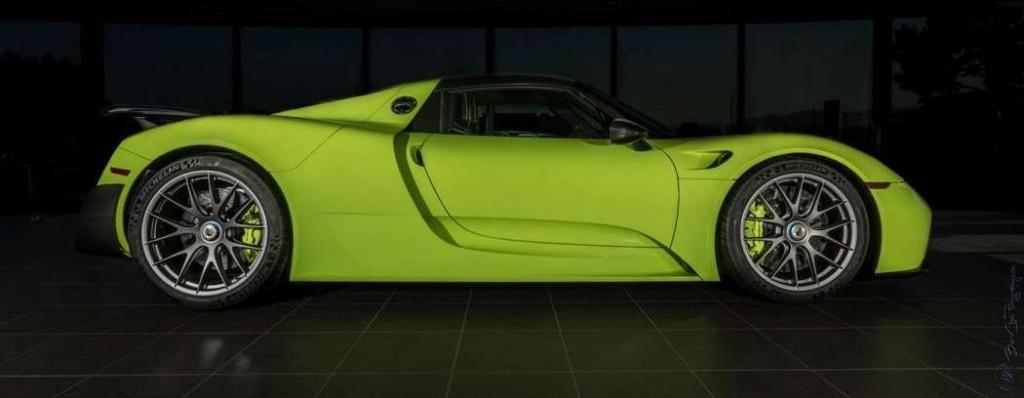 Limitovaná edice Porsche 918 Spyder