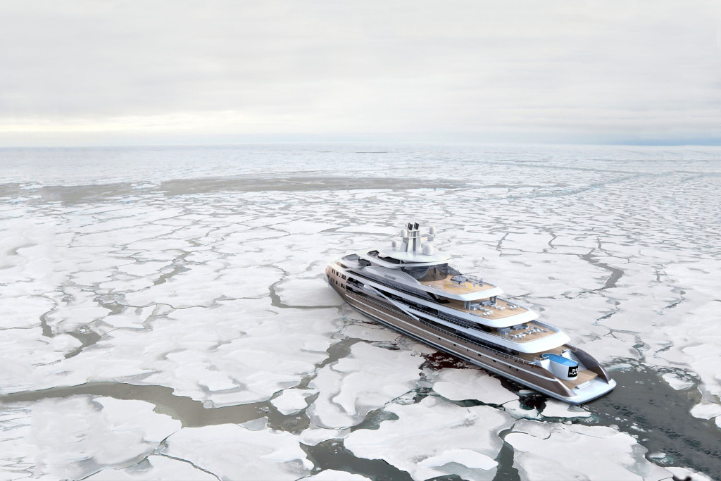 Luxusní mega jachta Hawk Yachts