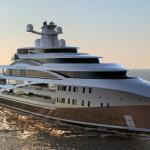 Luxusní megajachta Sea Hawk
