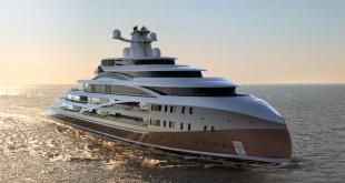 Luxusní mega jachta Sea Hawk