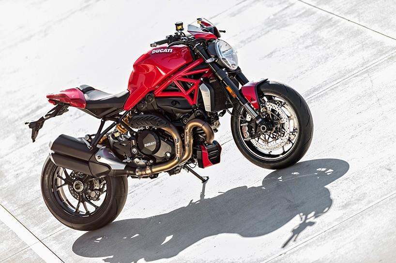 Luxusní motorka Ducati Monster 1200 R