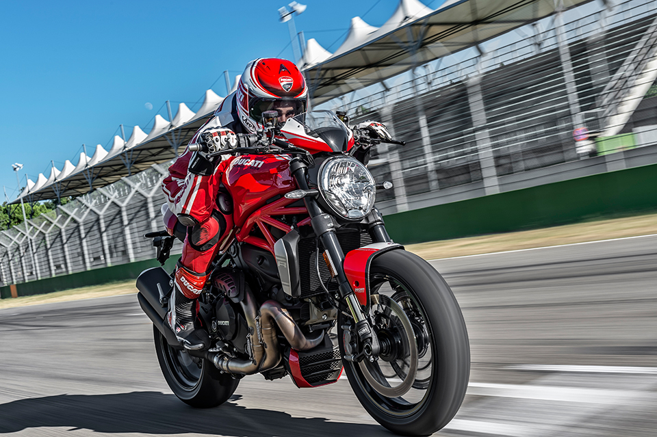 Luxusní motorka - Ducati Monster 1200 R