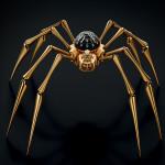 Fascinující stolní hodiny MB&F Arachnophobia