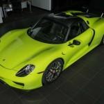 Porsche 918 Spyder Acid Green – limitovaná edice