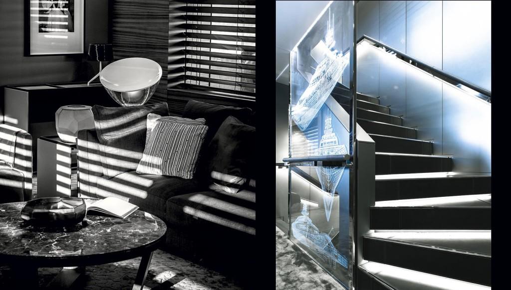 interier luxusni jachty