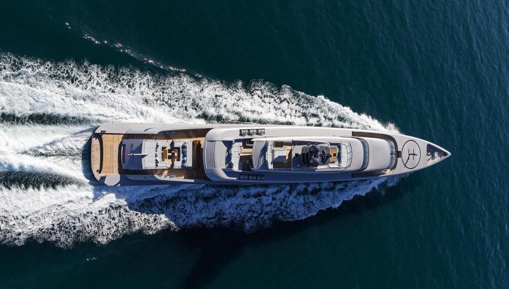 luxusní jachta - Silver Fast
