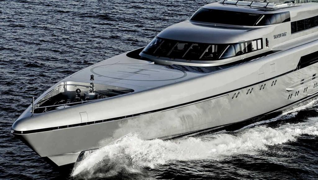 luxusní jachta Silver Fast