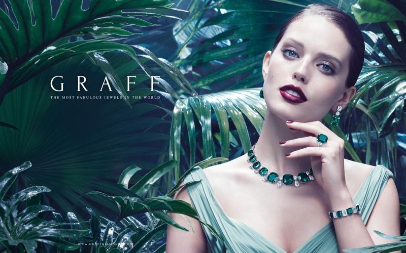 smaragdový náhrdelník Graff Diamonds
