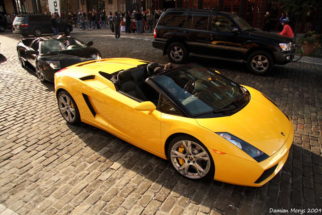 Luxusní Lamborghini Gallardo Spyder