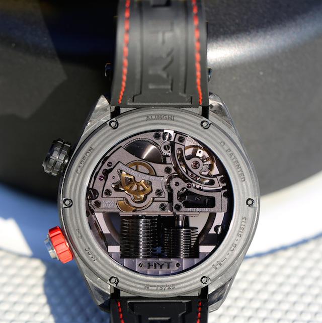 Luxusní hodinky - HYT H4 ALINGHI