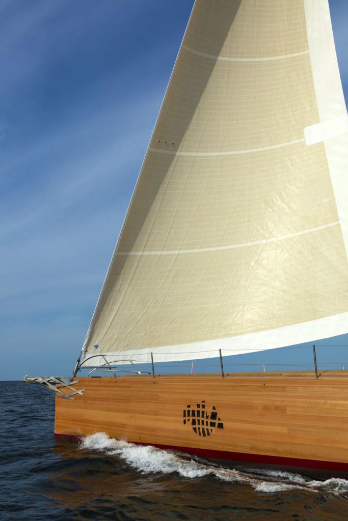Luxusní plachetnice Foggy Frank Gehry