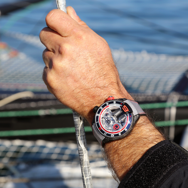 Luxusni hodinky - HYT H4 Alinghi