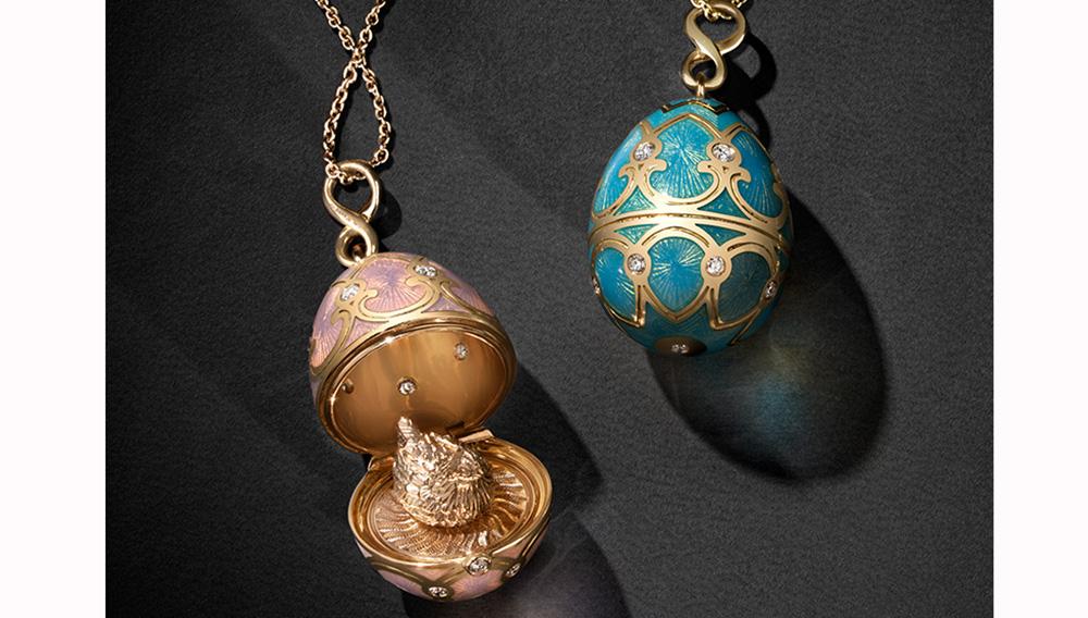 Fabergé eggs charm