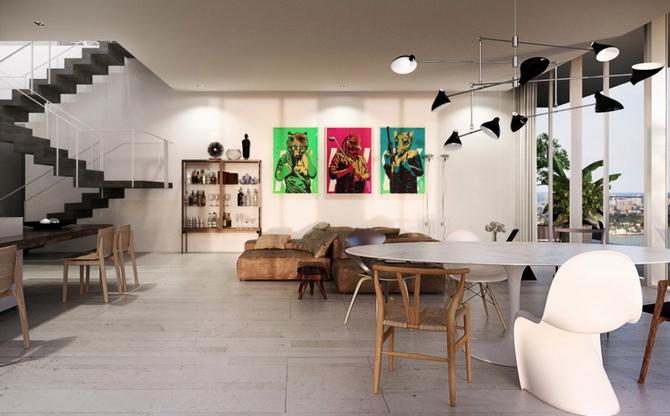 Luxusní Penthouse David Guetta
